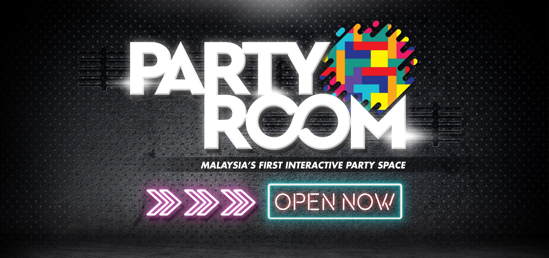 party room - interactive party space is now opened